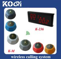 Most Cheap Wireless Calling System for Coffee Restaurant K-1000 and K-M-R