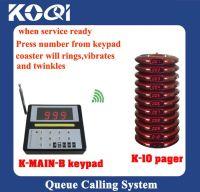 Wireless queue management system in hotel, restaurant