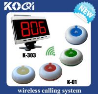 Waitress Call Pager K-303+O1-B for restaurant cafe hotel