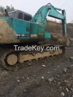 Sell Used Kobelco SK200-3 Excavator, Used Crawler Excavator Kobelco SK200-3