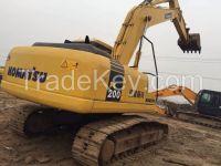 Sell Used Komatsu PC200-7 Excavator, Used Crawler Excavator Komatsu PC200-7