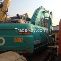 Sell Used Kobelco SK200-8 Excavator, Used Crawler Excavator Kobelco SK200-8