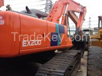 Sell Used Hitachi EX200-1 Excavator, Used Crawler Excavator Hitachi EX200-1