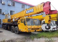Sell Used Kato Truck Crane 50t