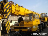 Sell Used XCMG 50T truck crane QY50 CHINA