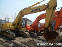 Komatsu PC220  Used crawler excavator
