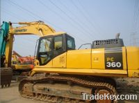 Used excavator Komatsu PC360