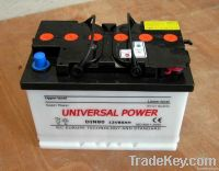 Sell DIN Series Dry Charged Car Battery