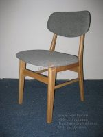 Wooden Dining Chair with soft seat