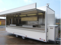 South Africa Mobile Pizza Vending Trailer, South African Mobile