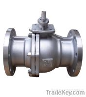 Sell 2PC Flanged Ends Metal Ball Valve