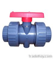 Sell High Quality 2PC Flanged Ends Plastic Ball Valve