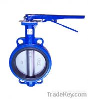 Sell Wafer Type Metal Butterfly Valve