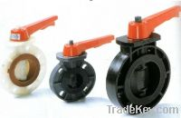 Sell  Plastic Butterfly Valve
