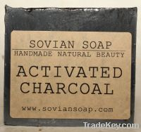 Sell Bamboo Activated Charcoal Soap - Organic, Handmade, Natural, Unsc