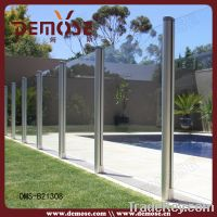 Sell Outdoor Fluted Tube Glass Fence