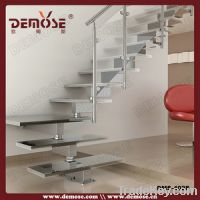 Sell Modern Stainless Steel Glass Stairway New Design