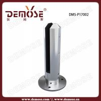 metal spigot for frameless glass panel