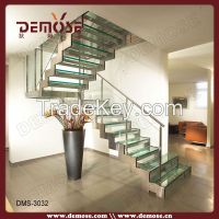 tempered glass stair treads commercial metal stairs