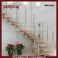 indoor iron wooden staircase designs