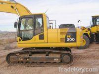 Sell  used Komatsu Excavator Machine PC200-8 for sell