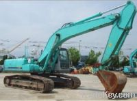 Sell used Kobelco ExcavatorSK200 Construction Machinery Supplied