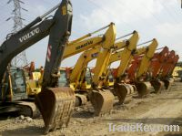 Sell used excavator heavy equipment for sell
