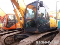 Sell used crawler excavator 20ton excavating machine for cheap sale