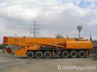 Sell used cranes 100ton truck crane