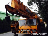Sell used 50ton truck crane