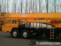 Sell used hydraulic crane 100ton hoist