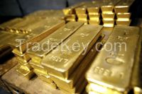 Au Gold Dust and Bars