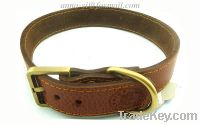 Sell Dog Neck Belts leather Collars Straps dog collar