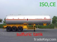 Sell sulfuric acid liquid tank-CA