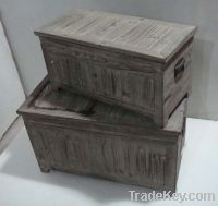Sell shabby chic antique Box & Chest