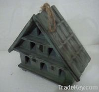 Sell antique nature wooden birdhouse