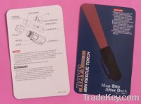 Sell paper card, printed card, blister card