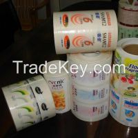 Sell adhesive label, paper label