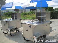 New design Potable hot dog cart HS110