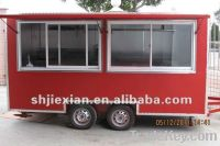 Air-condition, generator available, new Design outdoor food kiosk 400C
