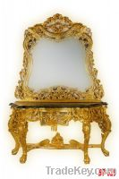 Sell Antique console table with mirror