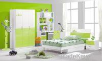 Sell MDF Green Teen Children Bedroom Furniture