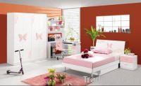 Sell MDF Pink Princess Children Bedroom Set