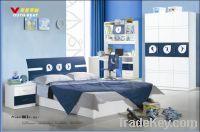 Sell MDF Teenage Kids Bedroom Furniture Set