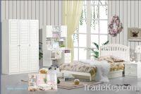Sell MDF White Princess Children Bedroom Furniture