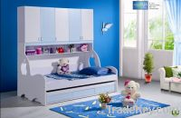 Sell 2pcs MDF Panels Children Wardrobe Bunk Bed with Drawer