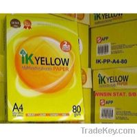 Sell Ik Yellow A4 Copy Paper A4 Copy Paper