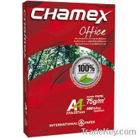 Sell chamex  A4-Copier-Paper-Supplier-80g-75g-70g