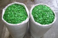 PET flakes and HDPE Drums