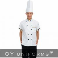 Sell Trendy Baker's Cook Uniform with Chef Coat and Pants